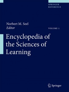 Encyclopedia of the Science of Learning (Springer, 2012)